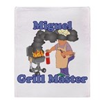 Grill Master Miguel Throw Blanket