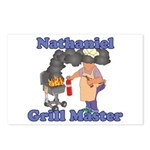 Grill Master Nathaniel Postcards (Package of 8)