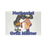Grill Master Nathaniel Rectangle Magnet