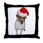 belle-santa.png Throw Pillow
