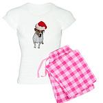 belle-santa.png Women's Light Pajamas