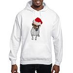 belle-santa.png Hooded Sweatshirt
