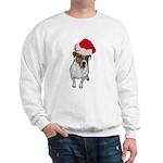 belle-santa.png Sweatshirt