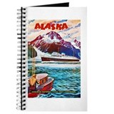 Alaska Travel Poster 1 Journal