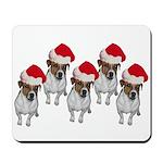 belle-santa-yardsign.png Mousepad