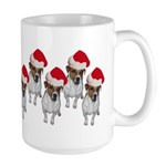 belle-santa-yardsign.png Large Mug