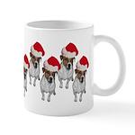 belle-santa-yardsign.png Mug