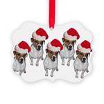 belle-santa-yardsign.png Picture Ornament