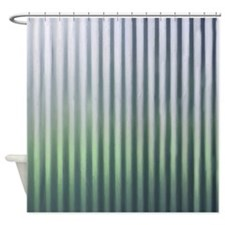 Tin Industrial Chic Shower Curtain