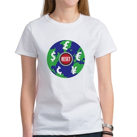 global economy reset Women's T-Shirt