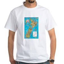 New Zealand Travel Poster 8 Shirt