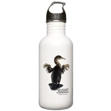 Galapagos Flightless Cormorant Water Bottle