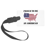 Proud to be an American - Patriotic Large Luggage