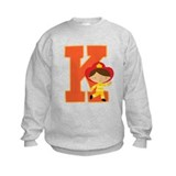 Letter K Firefighter Monogram Sweatshirt