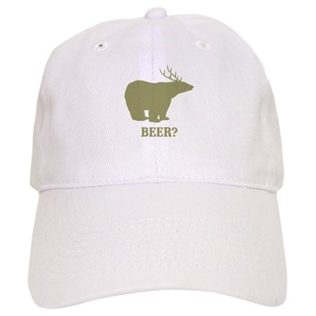 Beer Deer Bear Cap