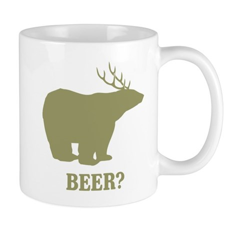 Beer Deer Bear Mug