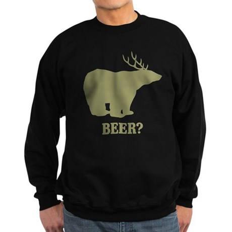 Beer Deer Bear Dark Sweatshirt