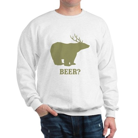Beer Deer Bear Sweatshirt