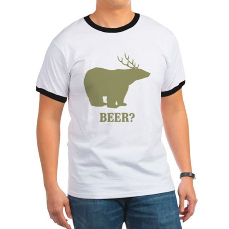 Beer Deer Bear Ringer T