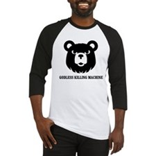 Bears: Godless killing machin Baseball Jersey