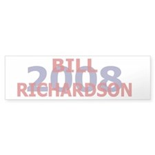 Campaign 2008 Bill Richardson Bumper Car Sticker