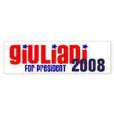 Giuliani for President 2008 Bumper Bumper Sticker
