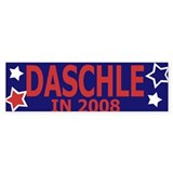 Daschle in 2008 Bumper Bumper Sticker