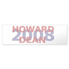 Campaign 2008 Howard Dean Bumper Bumper Sticker