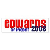 Edwards for President 2008 Bumper Bumper Sticker