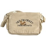 Crazy Squirrel Messenger Bag