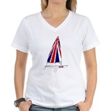 UK Britain Dinghy Sailing Shirt