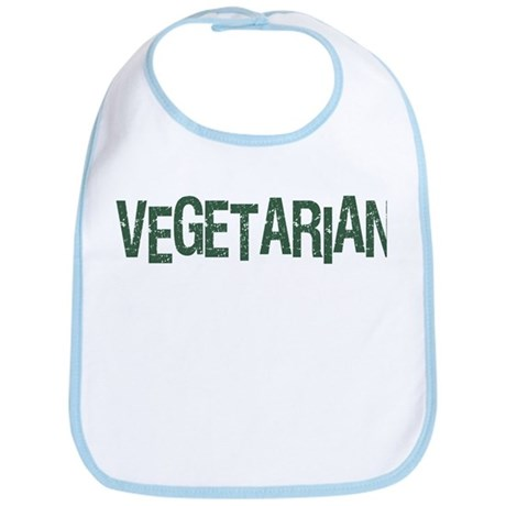 Vegetarian Cool Logo Bib