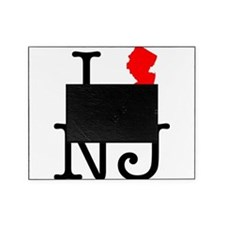 I Love NJ New Jersey Picture Frame