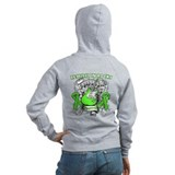 Remission Rocks Lymphoma Zip Hoodie