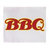 BBQ Throw Blanket