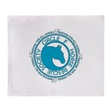 Circle F Horse Rescue Society Throw Blanket