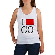 I Love CO Colorado Women's Tank Top