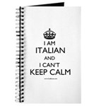 I AM ITALIAN AND I CAN'T KEEP CALM Journal