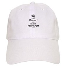 I AM ITALIAN AND I CAN'T KEEP CALM Baseball Cap