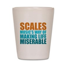 Scales Shot Glass