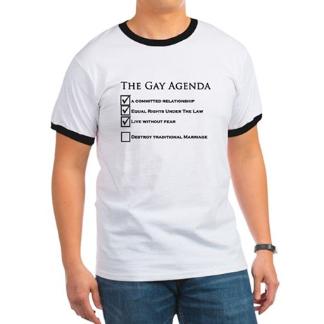 The Gay Agenda Ringer T