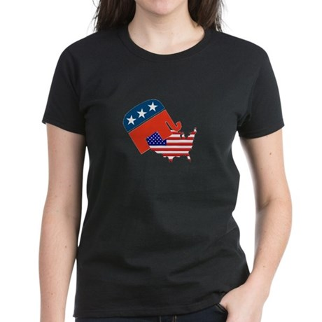 Screwing America Women's Dark T-Shirt