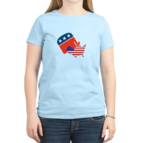 Screwing America Women's Light T-Shirt