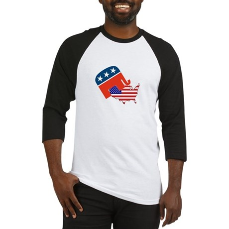 Screwing America Baseball Jersey