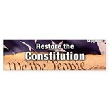 Restore the Constitution Bumper Sticker