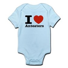 I Love Anteaters Infant Bodysuit