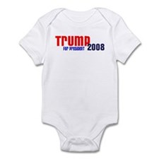 Trump for President 2008 Infant Creeper