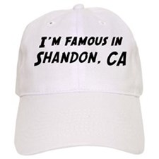 Famous in Shandon Baseball Cap