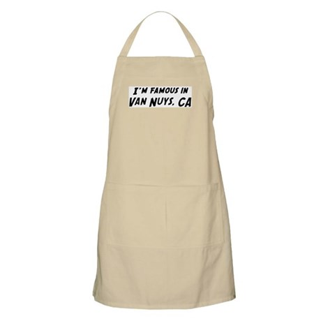 Famous in Van Nuys BBQ Apron