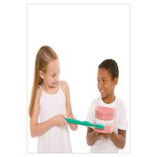 Learning dental hygiene